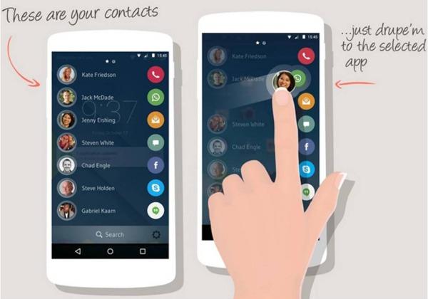 Drupe applicazioni Android importanti