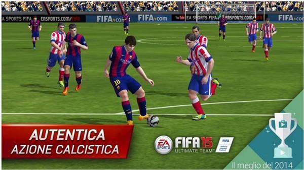 Fifa 15 Ultimate Team giochi Android più belli 2015