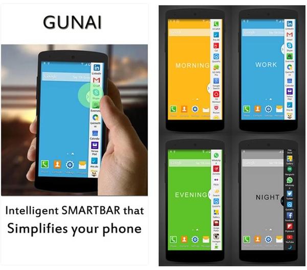 GUNAI Intelligent Smartbar applicazioni Android gratuite per tablet