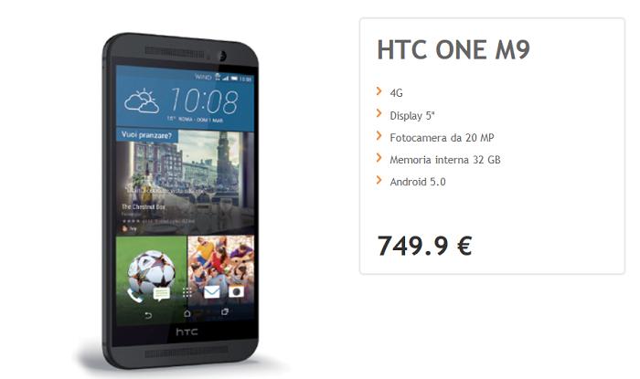 HTC-One-M9-offerte-operatore-Wind,-caratteristiche-e-specfiche-tecniche-6