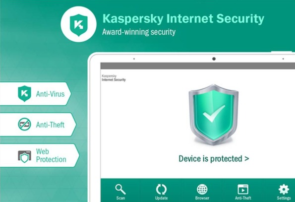Kaspersky Internet Security applicazioni Android importanti