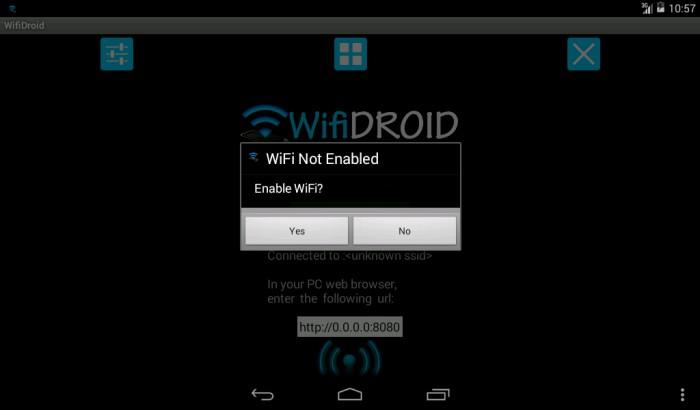 Le migliori 5 app per trasmettere file via wi fi con android for App per progettare casa android