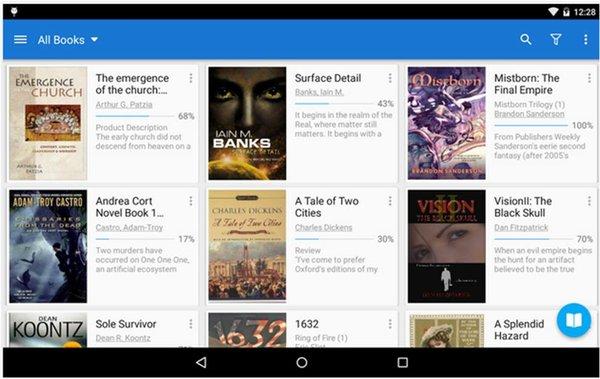 Moon+ Reader Pro applicazioni Android a pagamento