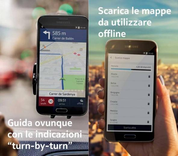 Nokia HERE applicazioni Android da tenere