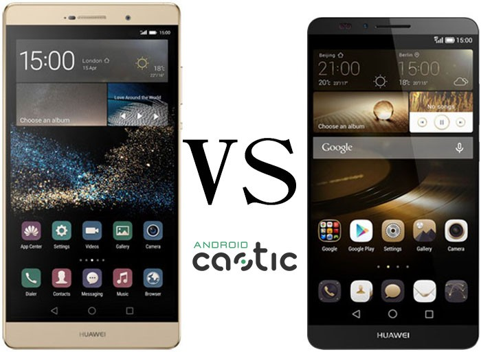Nexus 5 vs huawei ascend p7
