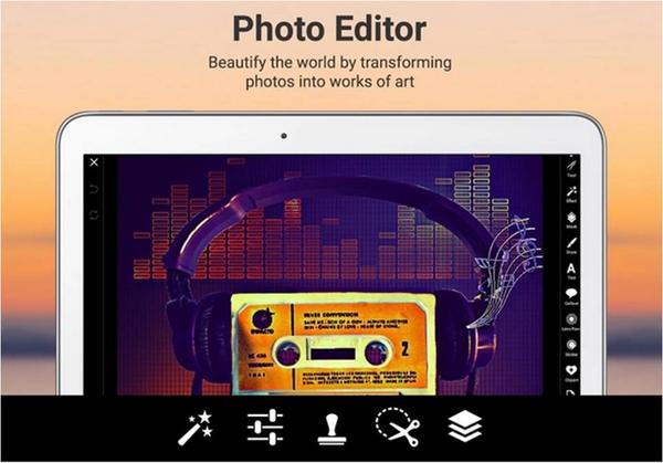 PicsArt – Studio Fotografico applicazioni Android gratuite per tablet