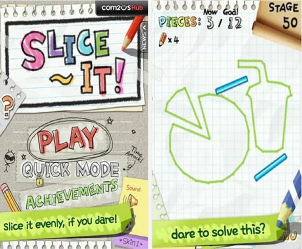 Slice It! giochi Android gratis da scaricare