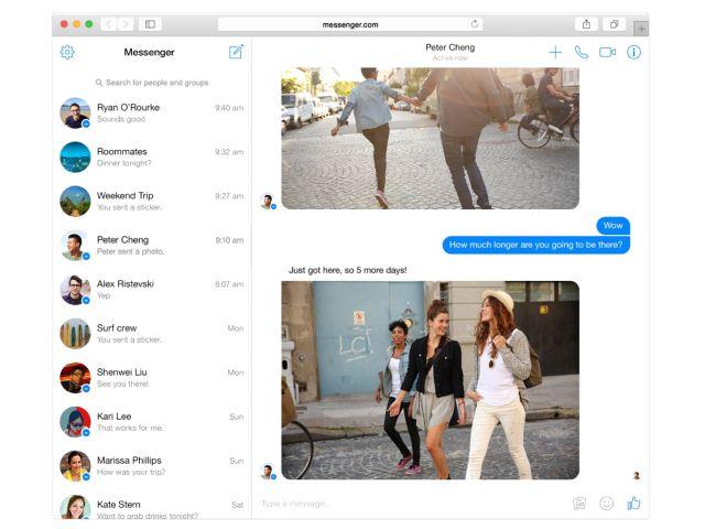 Messenger desktop