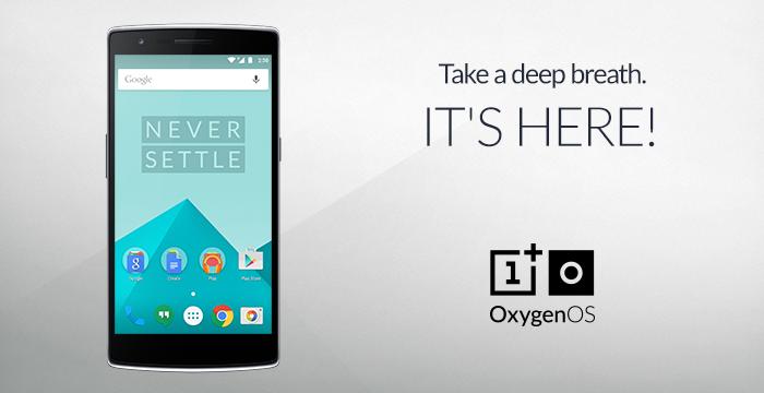 OxygenOS 1.0 disponibile al download