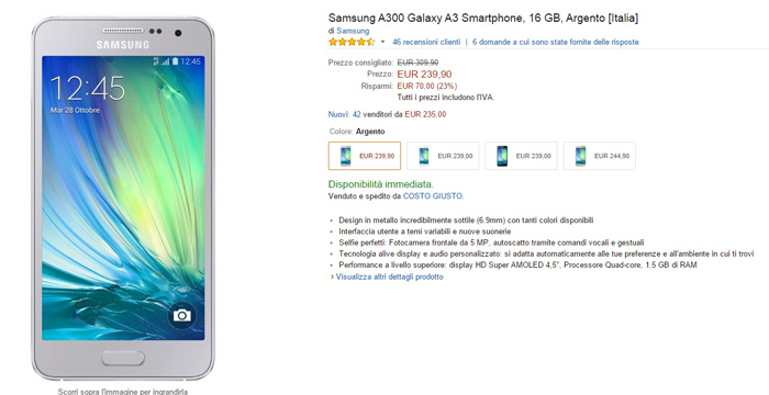 samsung galaxy a3 -amazon-05042015