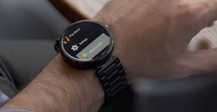 Aria gesture su smartwatch Android e Pebble Time