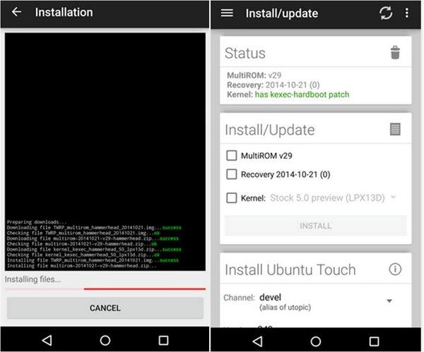 Come flashare più ROM sullo stesso smartphone Android con MultiROM Manager