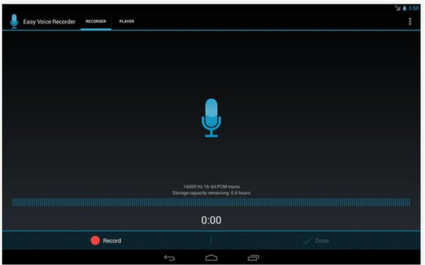 Easy Voice Recorder registratori vocali Android