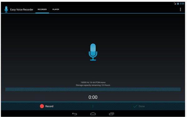 Easy Voice Recorder registratori vocali Android