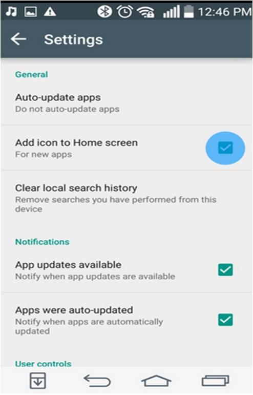 Icone per app Android evitare
