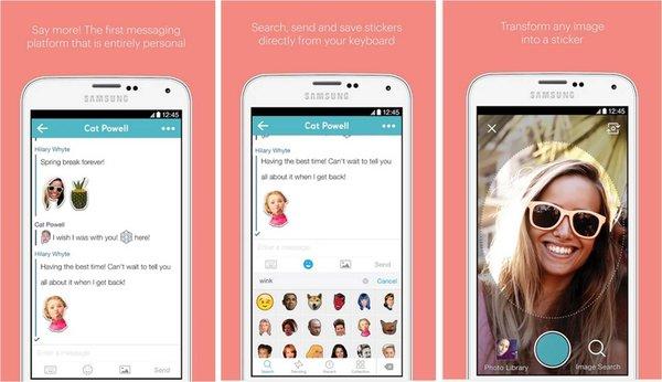 Imoji creare emoji su Android
