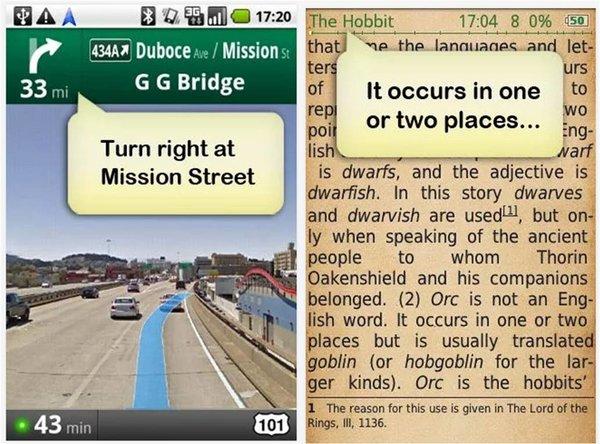 Ivona Text-To-Speech HQ come cambiare voce al navigatore Android