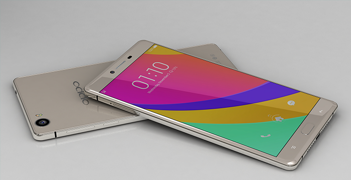 Teaser display Oppo R7