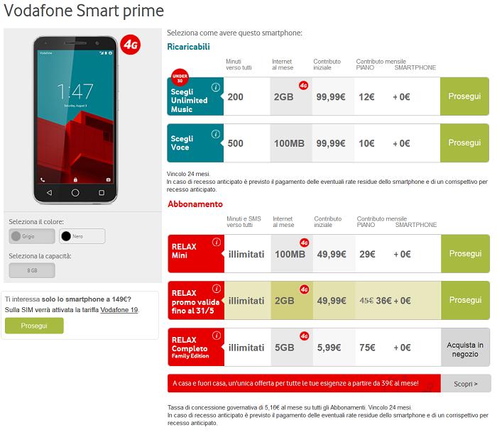 Vodafone-Smart-Prime-offerte operatore,-specifiche-tecniche-e-caratteristiche-4