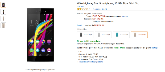 Wiko-Highway-Star-caratteristiche,-specifiche-tecniche-e-migliori-prezzi-4