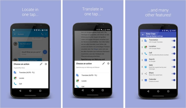 copiare testo su Android EasyCopy