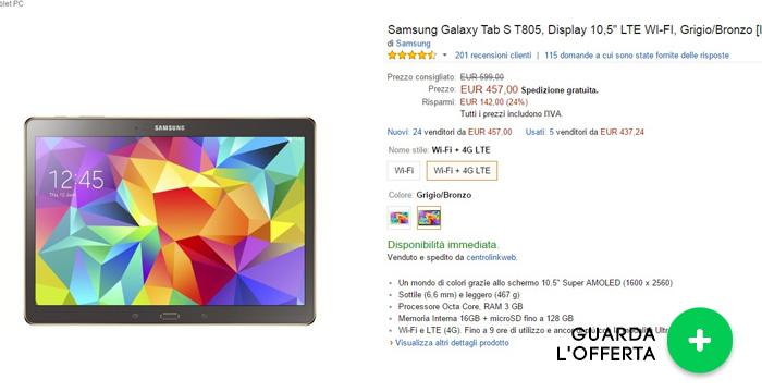 samsung-galaxy-tab-s10.5-migliori-offerte-amazon-25052015