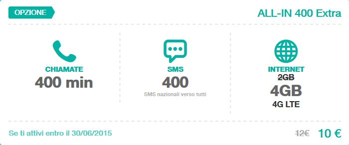 Offerta-Tre-All-IN-400-Extra-Giugno-2015-800-minuti,-800-SMS,-4-GB-di-Internet-in-4G-4