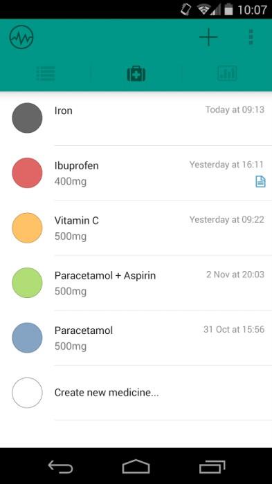 promemoria medicine le migliori 5 app per android. Black Bedroom Furniture Sets. Home Design Ideas