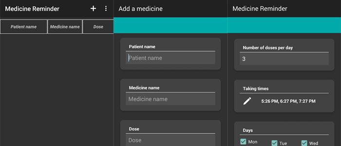 App promemoria per pillole e farmaci