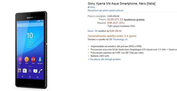 sony-xperia-m4-aqua-offerte-amazon-06062015