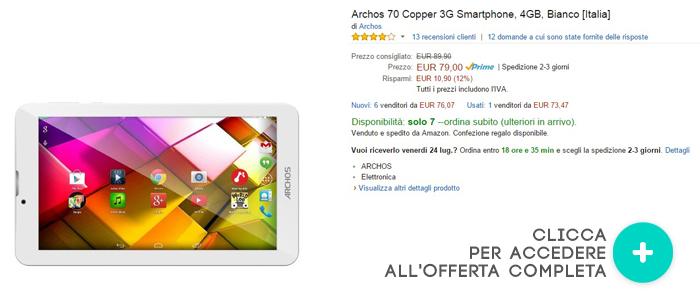 Archos-70-Copper-3G-migliori-offerte-amazon-20072015
