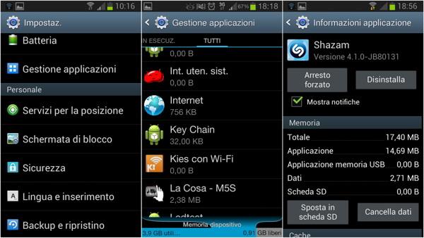 Come spostare applicazioni Android su scheda