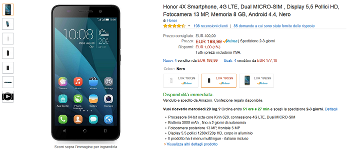 Honor-4A-vs-Honor-4X-differenze-e-specifiche-tecniche-a-confronto-tra-i-due-Huawei-4