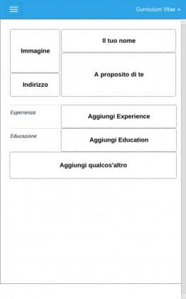 Le migliori 5 app per creare curriculum