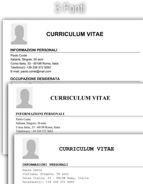 Curriculum Vitae Per Android Gratis Zammara