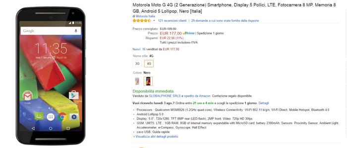 Motorola-Moto-G-4G-offerte-amazon-30072015