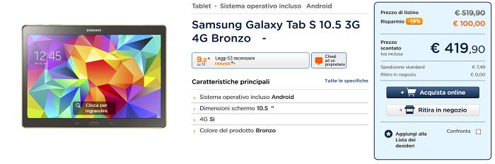 Samsung-Galaxy-Tab-S-10.5-Wi-Fi+LTE-caratteristiche- migliori-prezzi-e-specifiche-tecniche-5