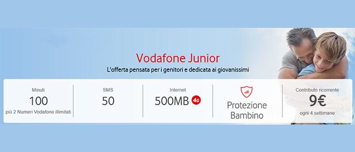 Tariffa-Vodafone-Junior-Luglio-2015-100-minuti,-50-SMS,-500-MB-di-Internet-1