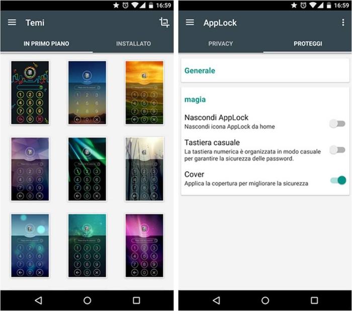 come impedire accesso app Android a chi non è autorizzato AppLocks