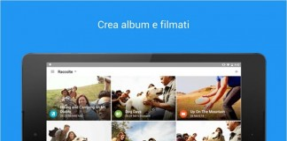 Google Photo app per creare video su Android