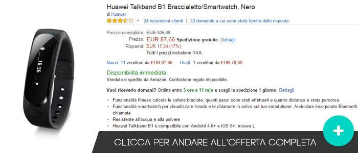 Huawei-Talkband-B1-migliori-offerte-amazon-24082015