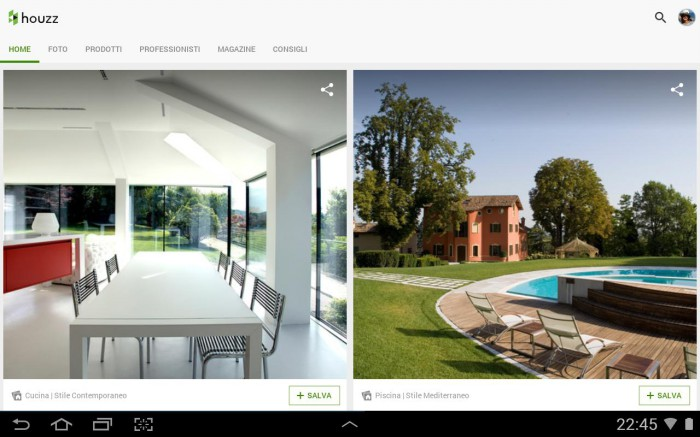 Le migliori 5 app per migliorare la tua casa con android for Costruisci la tua casa personalizzata