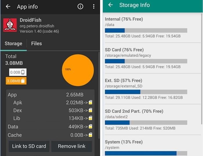 Link2SD come spostare applicazioni Android su scheda SD