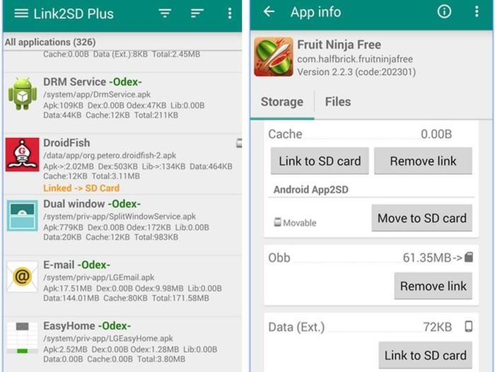 Come Spostare Applicazioni Android Su Scheda Sd Con Link2sd