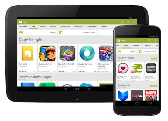 come votare app Android