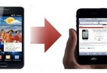 Come passare contatti da Android ad iPhone
