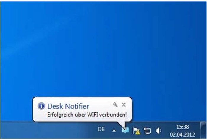 DeskNotifier ricevere le notifiche Android su pc