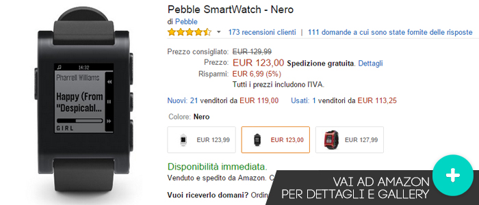 pebble-smartwatch-migliori-offerte-amazon-wearable-28092015