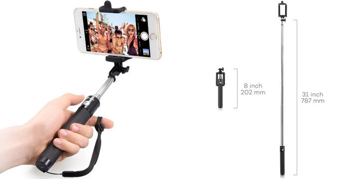 selfie-stick-taotronics-galaxy-s6-migliori-accessori