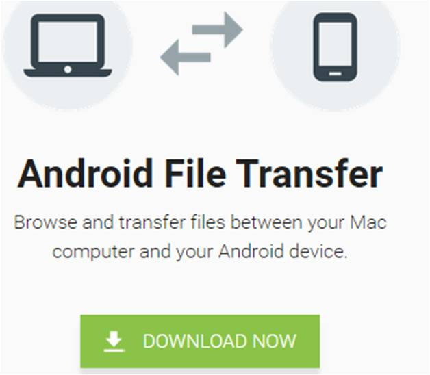 trasferimento file da Android a Mac Android File Transfer